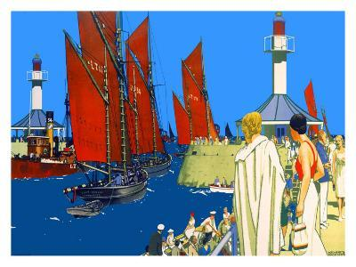 Lowestoft-Kenneth Shoesmith-Giclee Print