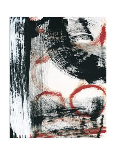 LPs in 33 III Red-Sue Schlabach-Art Print