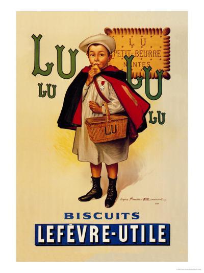 Lu Lu Biscuits-Firmin Etienne Bouisset-Art Print