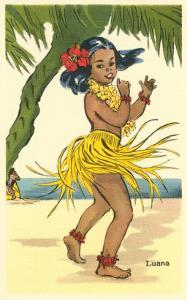 Luana, Little Hula Girl