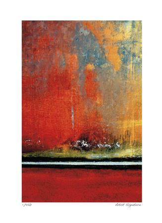 Crimson Evening Surf