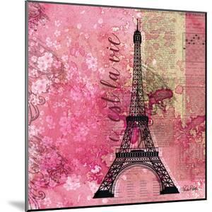 Pink Paris by LuAnn Roberto