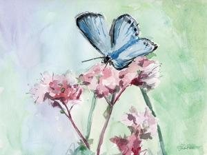 Watercolor Butterfly I by LuAnn Roberto