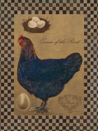 Country Living Hen by Luanne D'Amico
