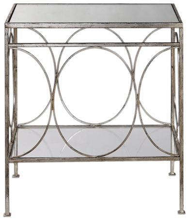 Luano Silver End Table