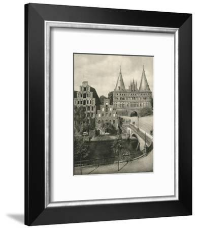 'Lubeck - Holstentor', 1931-Kurt Hielscher-Framed Photographic Print