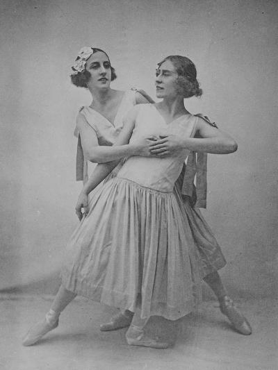 Lubov Tchernicheva and Lydia Sokolova--Photographic Print
