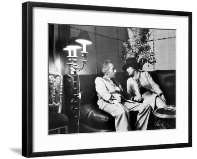 Jean Cocteau and Coco Chanel