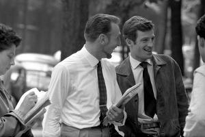 Jean-Paul Belmondo and Jacques Dupont by Luc Fournol