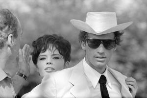 Jean-Paul Belmondo and Pascale Petit by Luc Fournol