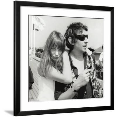 Serge Gainsbourg and Jane Birkin, July 23, 1970