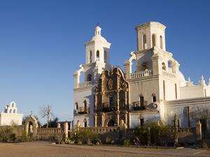 Mission San Xavier Del Bac, Arizona, USA by Luc Novovitch