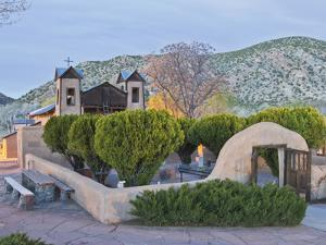 The Chimayo Sanctuary, Chimayo, New Mexico, USA by Luc Novovitch