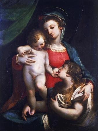 Madonna and Child with Mary Magdalene