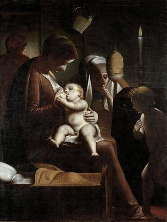 Madonna of the Candle, 1570-1575