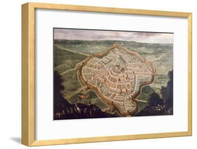 Perspective Map of Udine