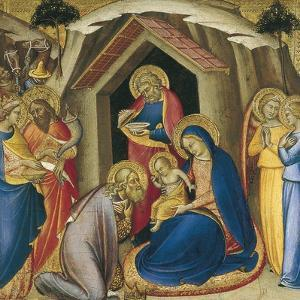 The Adoration of the Magi by Luca di Tommè