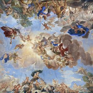 Apotheosis of the Medici Dynasty by Luca Giordano