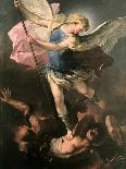 The Fall of the Rebel Angels-Luca Giordano-Mounted Giclee Print