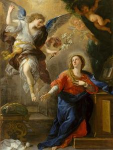 The Annunciation, 1672 by Luca Giordano