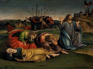 Christ on the Mount of Olives, C.1507 by Luca Signorelli