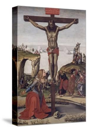 Crucified Christ with Mary Magdalene, 1490