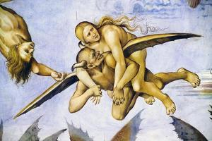 Damned in Hell, from Last Judgment Fresco Cycle, 1499-1504 by Luca Signorelli