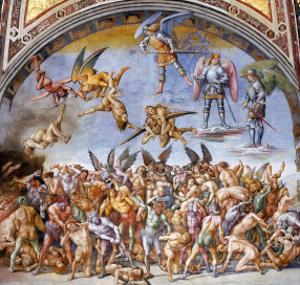 Dannati All'Inferno by Luca Signorelli