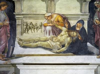 Lamentation over the Dead Christ by Luca Signorelli