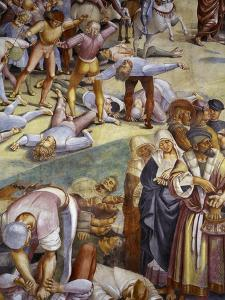 Sermon and Deeds of Antichrist, from Last Judgment Fresco Cycle, 1499-1504 by Luca Signorelli