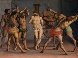 The Flagellation of Christ, C.1507 by Luca Signorelli