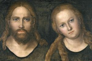 Christ and Mary, 1516-20 by Lucas Cranach the Elder