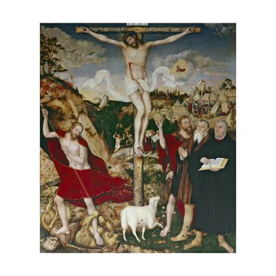 Christ on the Cross, 1552-55