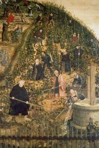 Der Weinberg Des Herrn (Martin Luther Im Weinberg), Epitaph Fuer Paulus Ebe by Lucas Cranach the Elder