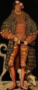 Duke Henry the Pious (1473-154), 1514 by Lucas Cranach the Elder
