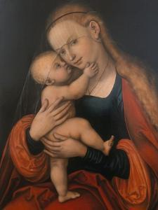 Madonna and Child (Passauer Gnadenbild) by Lucas Cranach the Elder