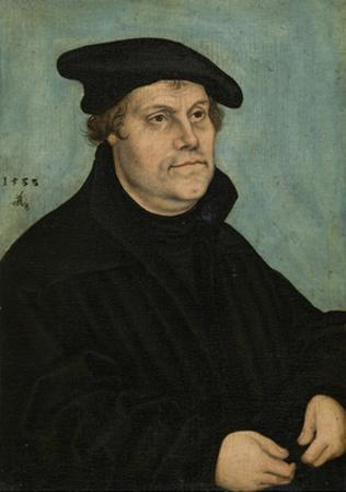 Martin Luther (1483-154) at the Age of 50, 1533 by Lucas Cranach the Elder