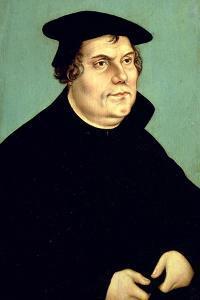 Martin Luther (1483-1546) by Lucas Cranach the Elder