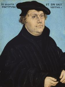 Martin Luther, 1532 by Lucas Cranach the Elder