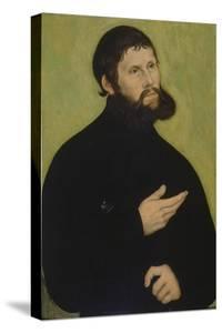Martin Luther as Junker Joerg by Lucas Cranach the Elder