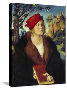 Portrait of Dr, Cuspinian, Ca, 1502-03 by Lucas Cranach the Elder