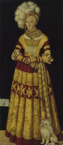 Portrait of Duchess Katharina Von Mecklenburg, 1514 by Lucas Cranach the Elder