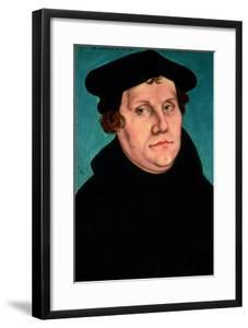 Portrait of Martin Luther, 1529 by Lucas Cranach the Elder