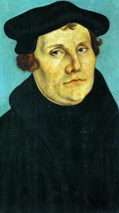 Portrait of Martin Luther, 1529 by Lucas Cranach the Elder