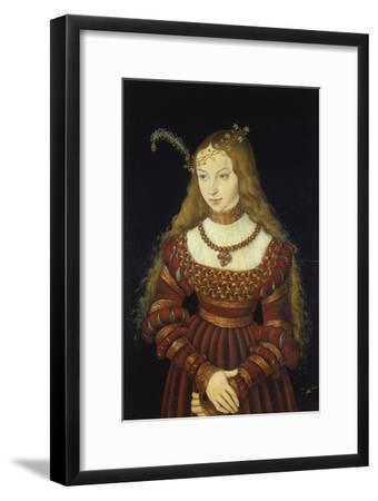 Sibylle Von Cleve as the Bride of Prince Johann Friedrich Von Sachsen-Weimar