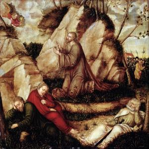 The Agony in the Garden by Lucas Cranach the Elder