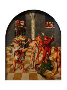 The Flagellation of Christ, 1538 by Lucas Cranach the Elder