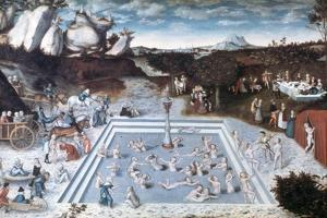 The Fountain of Youth, 1546 by Lucas Cranach the Elder