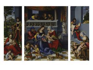The Holy Kinship (So-Called Torgau Altarpiece), 1509 by Lucas Cranach the Elder