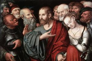 Christ and the Woman Taken in Adultery, after 1532 by Lucas Cranach the Younger